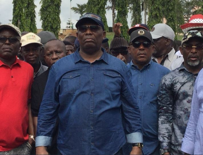 INEC, Ekiti Election: PDP leaders march to INEC office and National Assembly to submit petitions