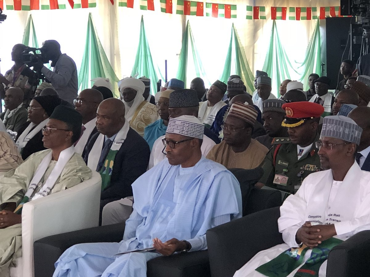 President Buhari commissions Abuja Light rail network, the first of its kind in West Africa(photos)