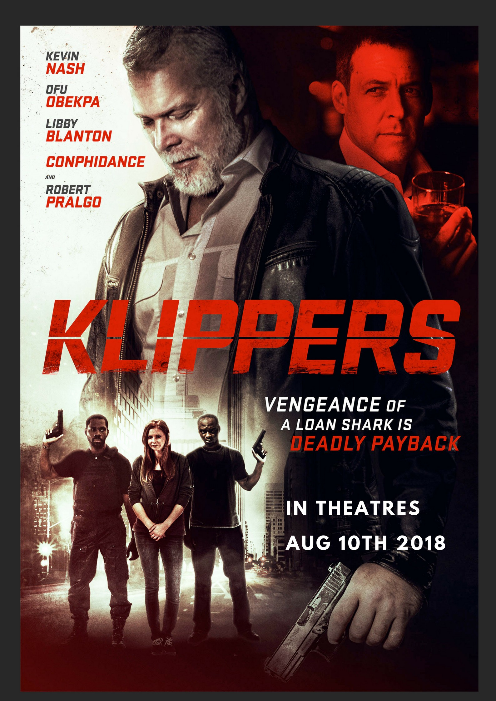 Ofu Obekpa, WWE Legend Kevin Nash, Conphidance, Libby Blanton, star in mind blowing action movie ?Klippers?