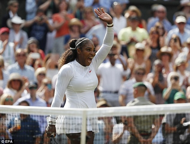 Serena Williams reaches Wimbledon final for the tenth time (Photos)
