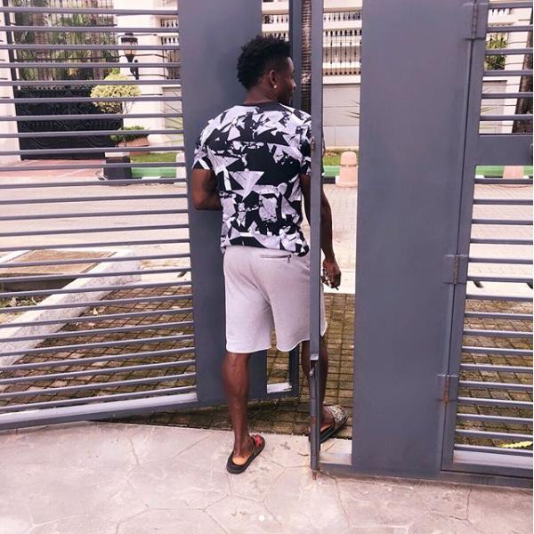 Footballer Obafemi Martins Shows His New Mansion In Lagos Photos