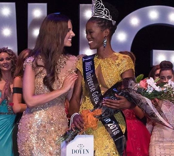 Dee Ann Kentish wins?Miss Universe Great Britain 2018, making her the first black woman to wear the crown