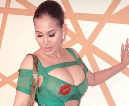 Caroline Danjuma steps out in s*xy revealing dress. See photos