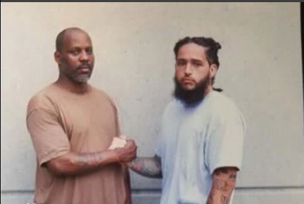 First photo of DMX in prison surfaces since being incarcerated for Tax Fraud