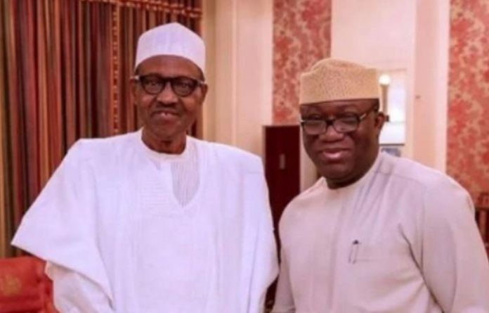 President Buhari congratulates Kayode Fayemi over his