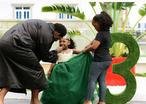 Singer, Timaya shares beautiful photos of his daughter who turns 3 today