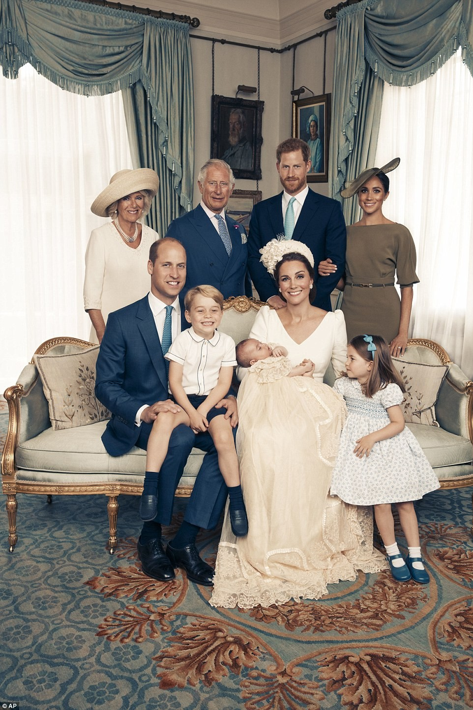 Royal family release four official photos from Prince Louis
