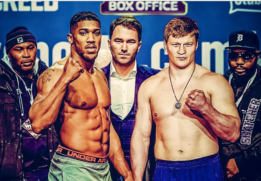 Anthony Joshua to defend his world heavyweights titles against Alexander Povetkin on September 22?