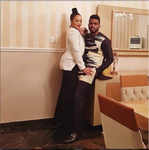 Loved-up photos of Adaeze Yobo and her hubby Joseph Yobo