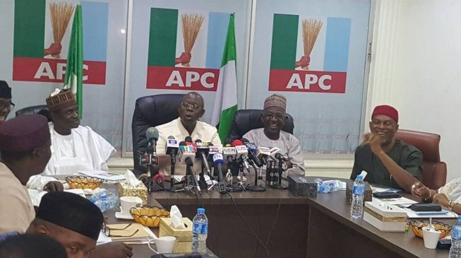 APC National chairman, Adams Oshiomhole says governor Ortom has not quit APC