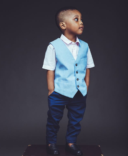 """I really don?t know how we did this Ubi Franklin but we are raising a rare gem here"" - Lilian Esoro says as she celebrates their son"