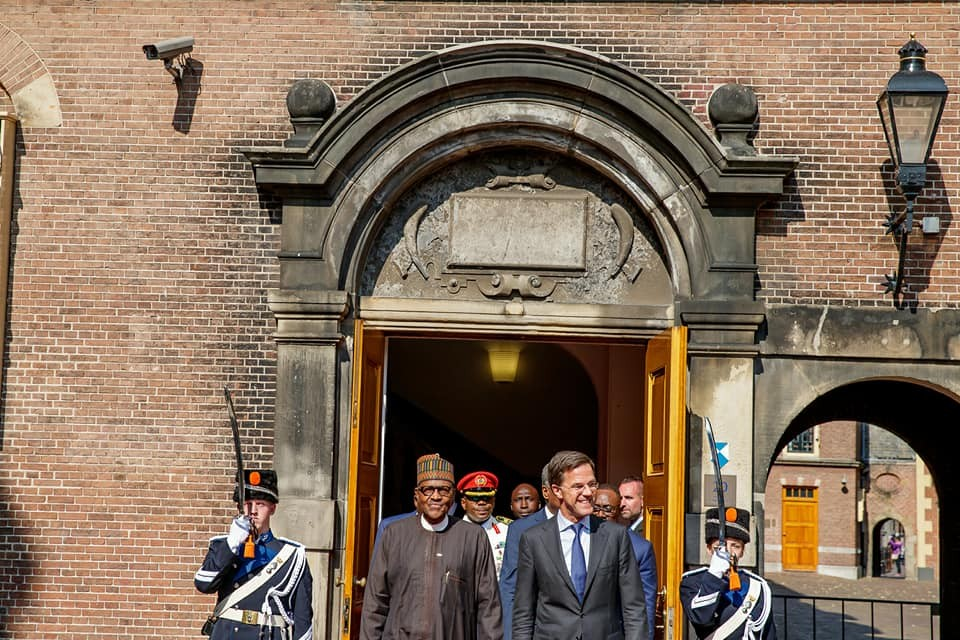 President Buhari meets?with Prime Minister of the Netherlands,?Mark Rutte