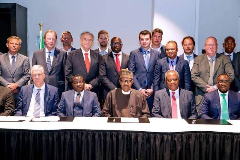 """Nigeria is safe and secure for investment"" President Buhari tells Businessmen in Netherlands"