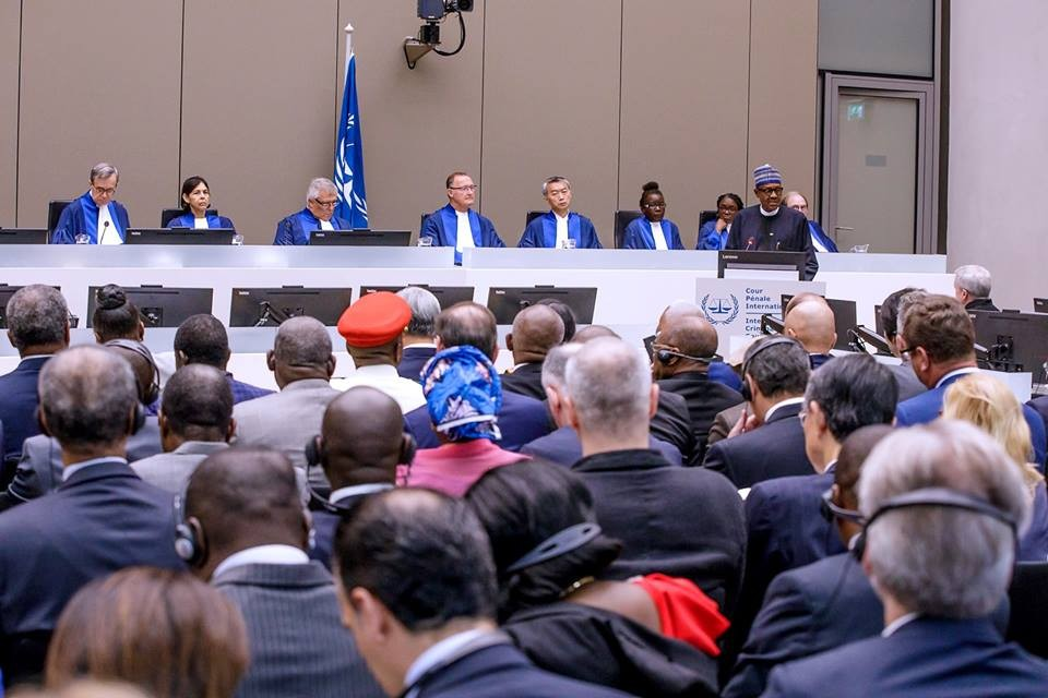 Photos: President Buhari speaks at 20th anniversary of the International Criminal Court