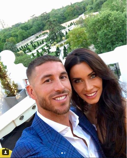 Spain and Real Madrid captain Sergio Ramos gets engaged to Spanish TV presenter Pilar Rubio (Photos)