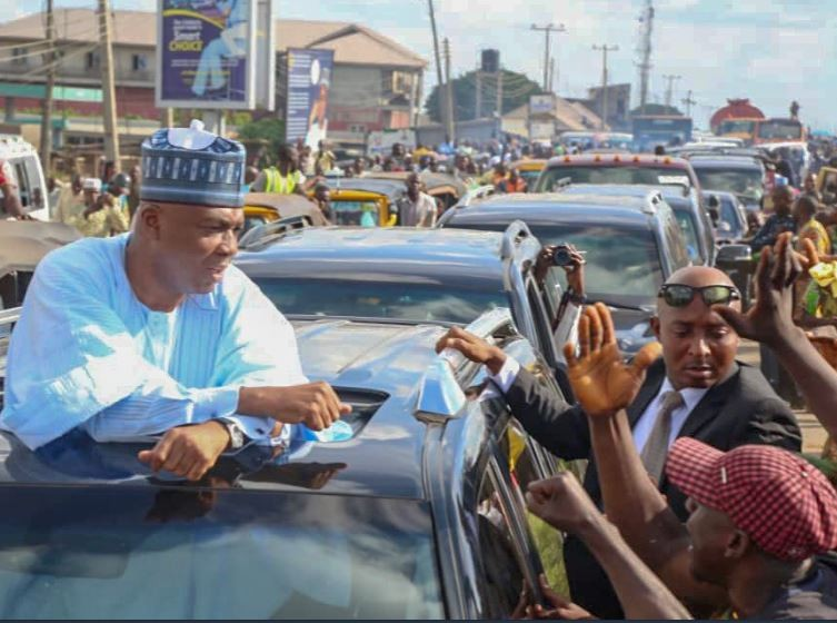 Photos: Senate President Bukola Saraki receives hero