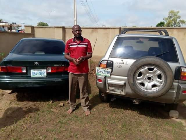 Police nabs notorious car snatcher in Katsina