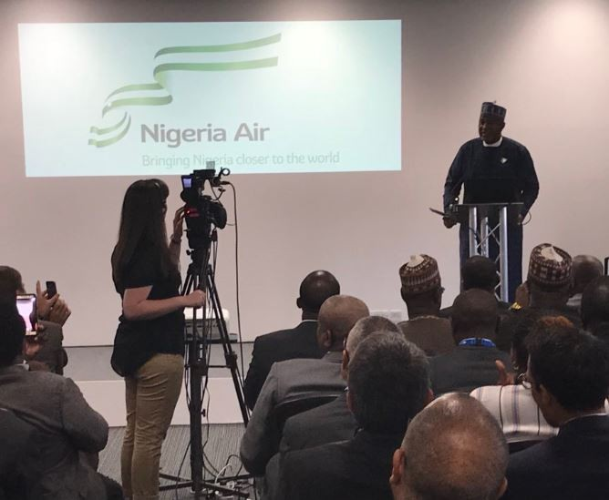 "Federal Government unveils?new?National Carrier?called?""Nigeria Air"""
