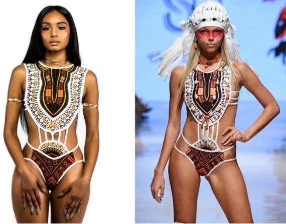 Nigerian-American designer, Buki Ade accuse?Brazilian designer of plagiarizing her swimwear collection