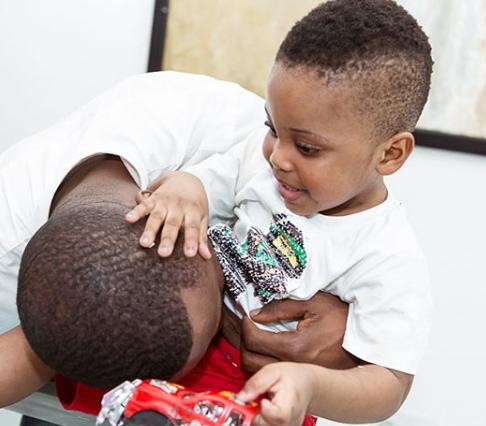 Photos: Ubi Franklin and Lilian Esoro throw their son a birthday party