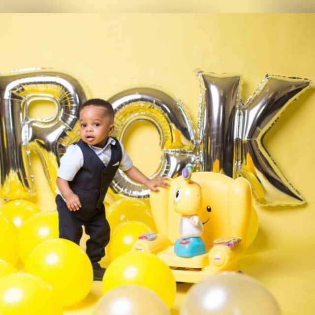 Laura Ikeji-Kanu shares loveLY photos of her son, Ryan, who turns a year old today