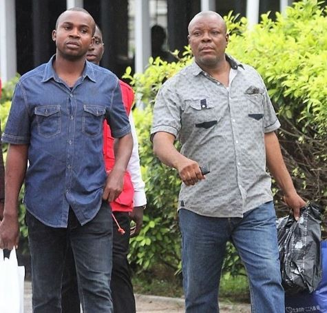 Photo:?EFCC arraigns two for Illegal oil deal in Lagos