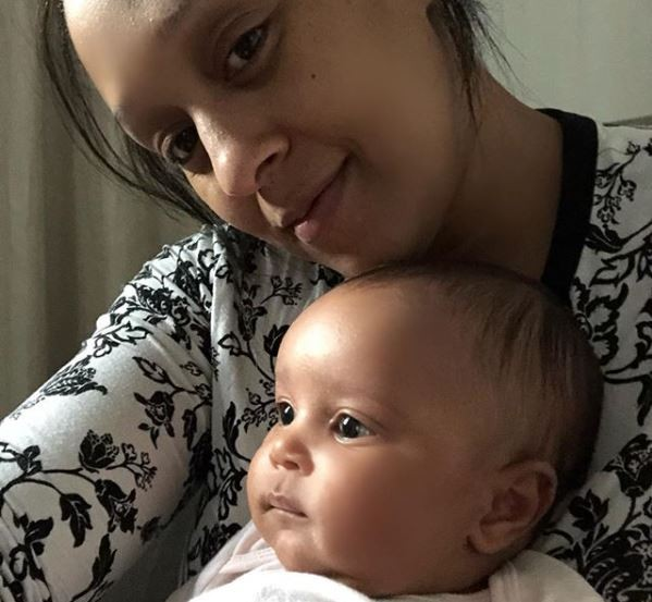 Hollywood actress, Tia Mowry and her little daughter look?so adorable in this photo