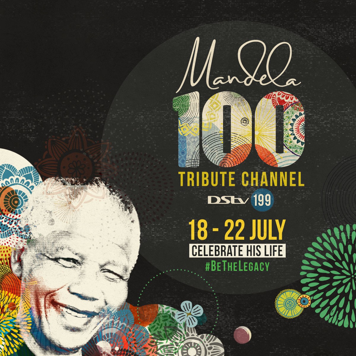 Mandela 100 Tribute Pop-Up DSTV