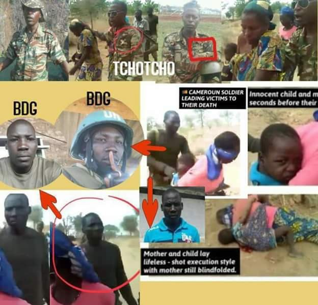 Horrific Video: Cameroon arrests four soldiers suspected of executing women and children accused of being accomplices of Boko Haram terror group
