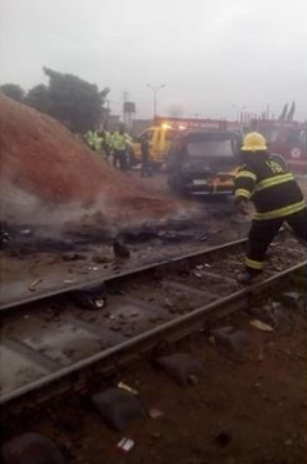 Two commuters sitting on train fall and die in Lagos, others injured