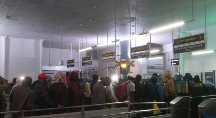 World cup: 154 out of the 230 Nigerians stranded in Russia have returned home