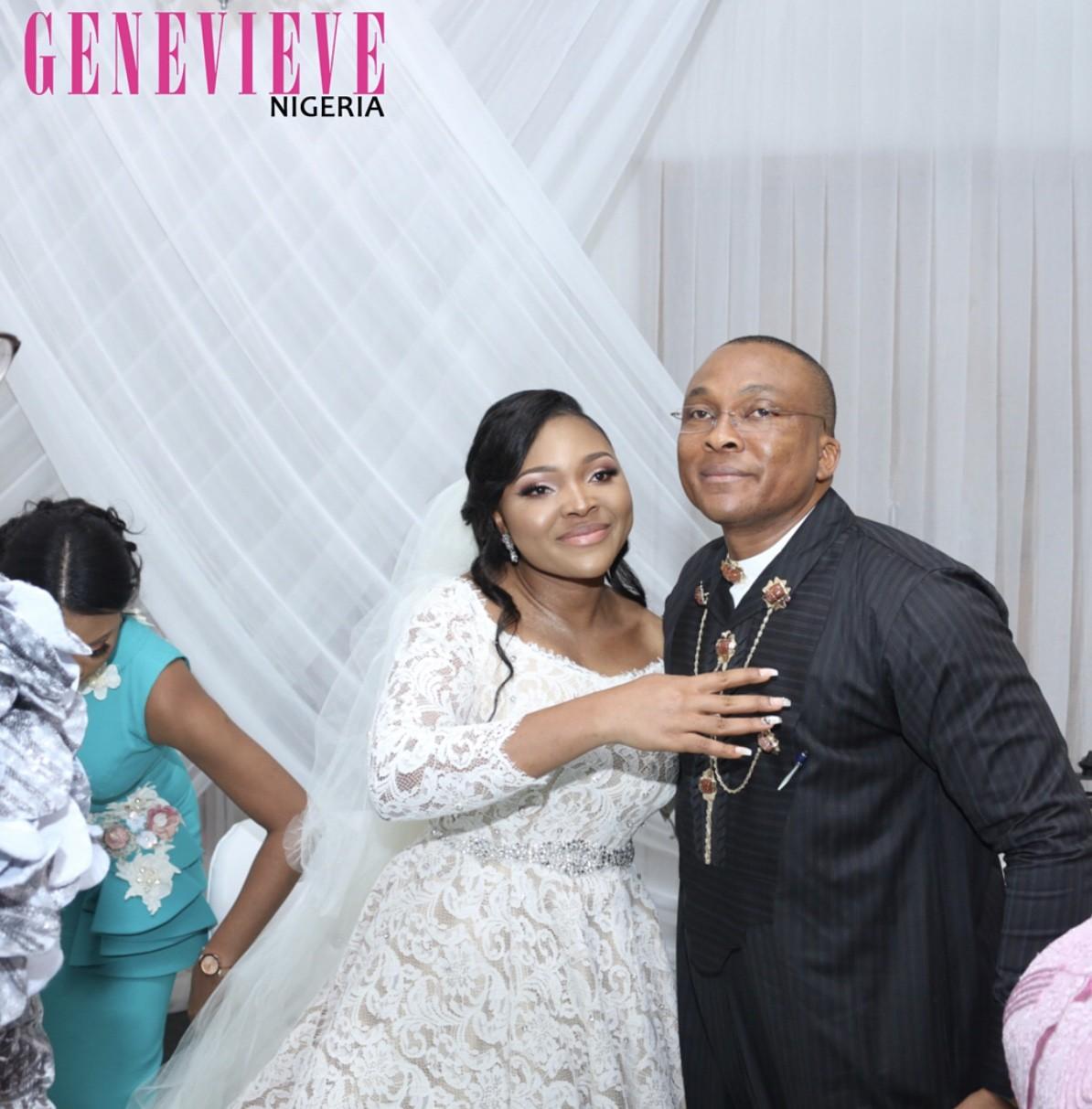 Photos from the white wedding of Joke Silva & Olu Jacobs