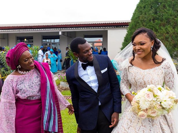 More beautifful photos from Joke Silva and Olu Jacob