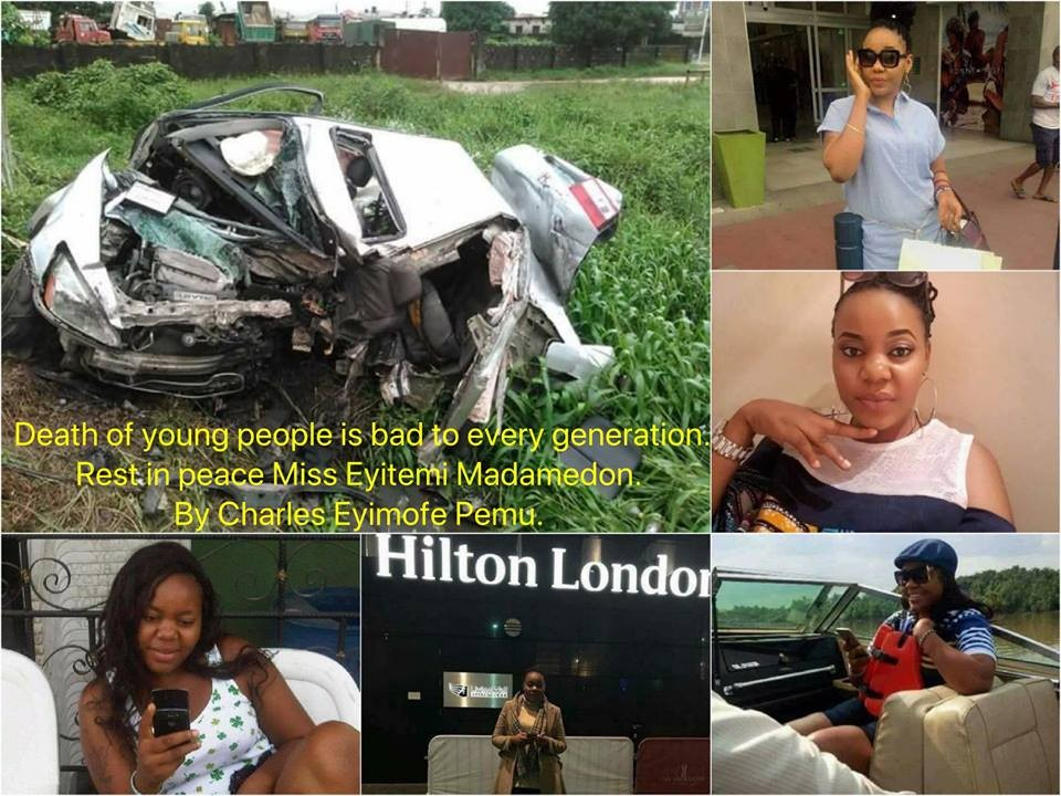 Photos: Lady set to wed in August dies in fatal accident in Warri