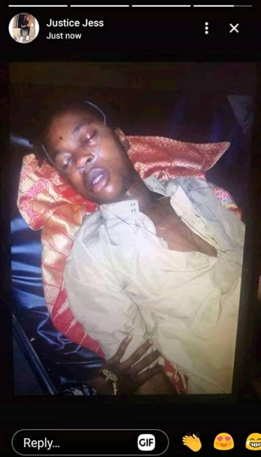 Recent graduate dies after vomiting blood in Edo state (photo)