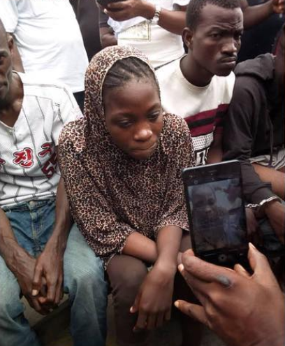 I kill for ?10,000 each and wear white hijab to kill targets - 20-yr-old female cultist confesses