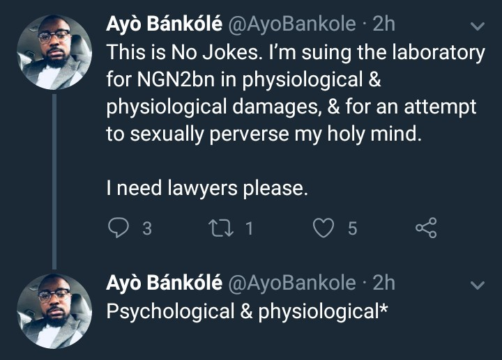 Nigerian man asks how gay guys cope after he had an equipment shoved in his butt during medical check up