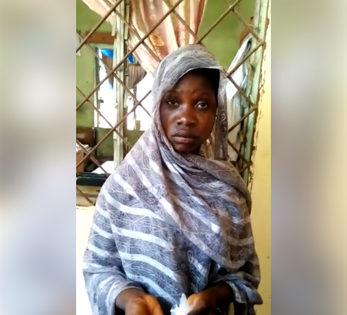 Young girl arrested after she was caught selling cannabis to students in Kano state