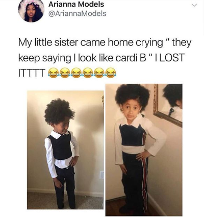 This little girl came home from school crying and the reason is hilarious!