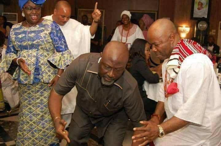 See photo of Dino Melaye dancing after his defection from APC to PDP
