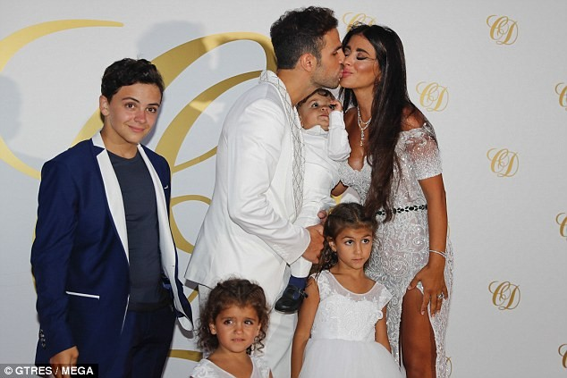 Football legends and their gorgeous wives attend glamorous post-wedding party of Cesc Fabregas and his wife Daniella Semaan in Ibiza (Photos)