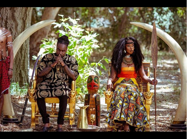 Rapper Wale rocks Isiagu in African- themed photoshoot?(Photo)
