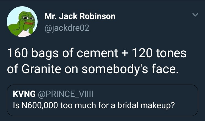 Is N600K too much for bridal makeup?