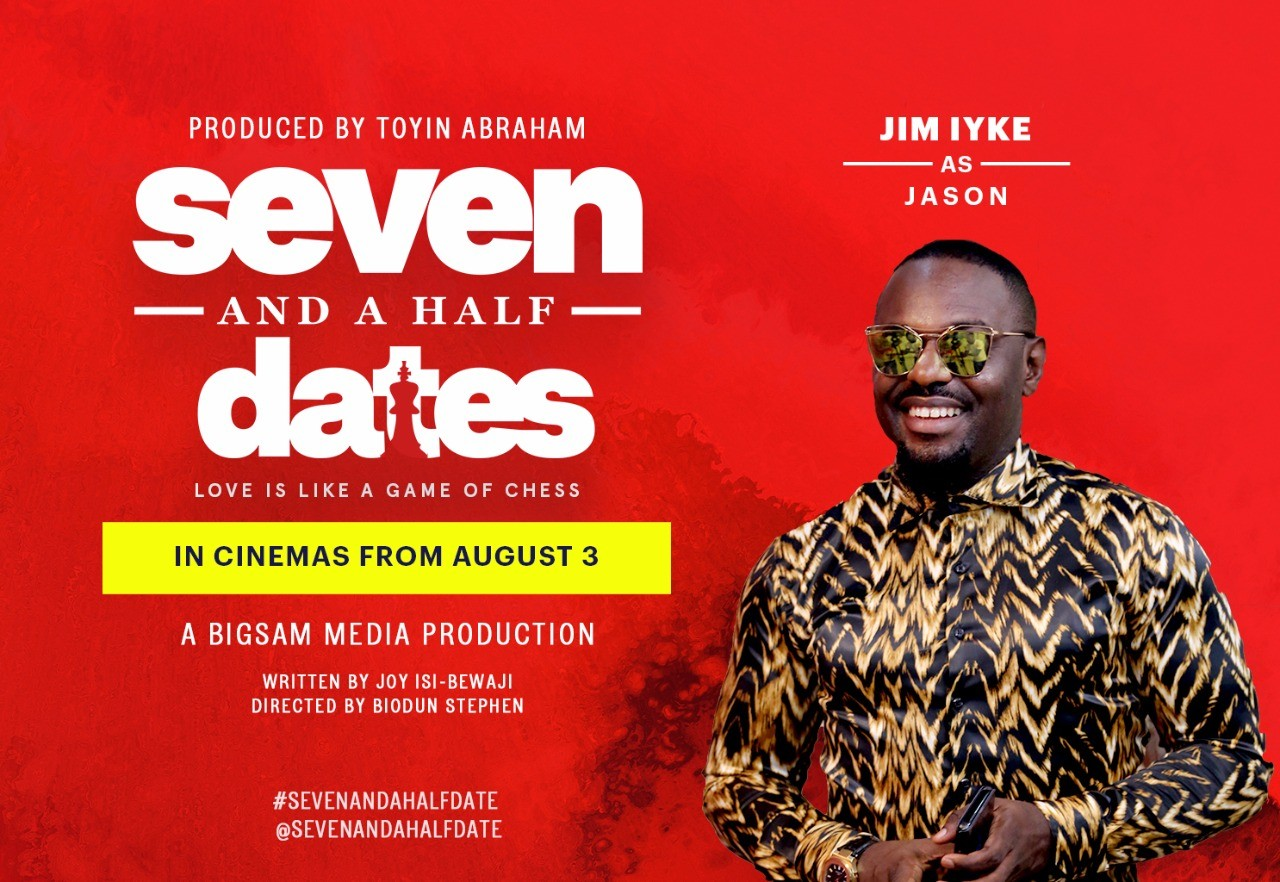 Is Jim Serious? Seven and a Half Dates? Script compelled me back into acting ? Jim Iyke