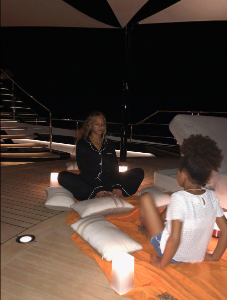 These photos of Blue Ivy on vacation with her parents in Europe is goals
