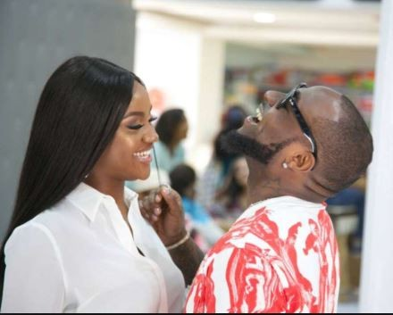 Hilarious! Davido and?Chioma