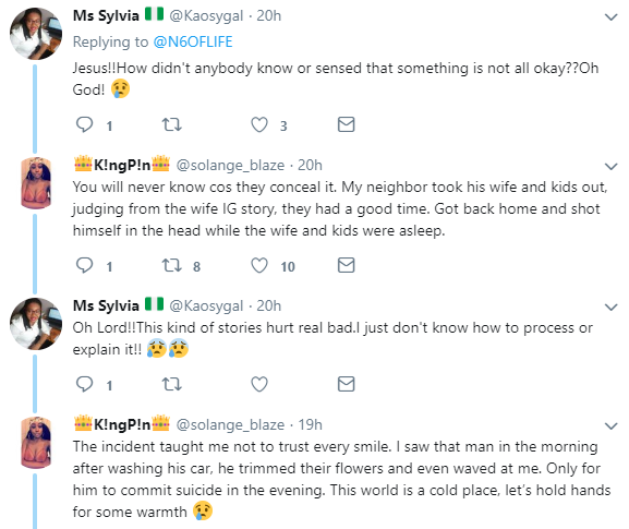 Photo: Nigerian lady commits suicide