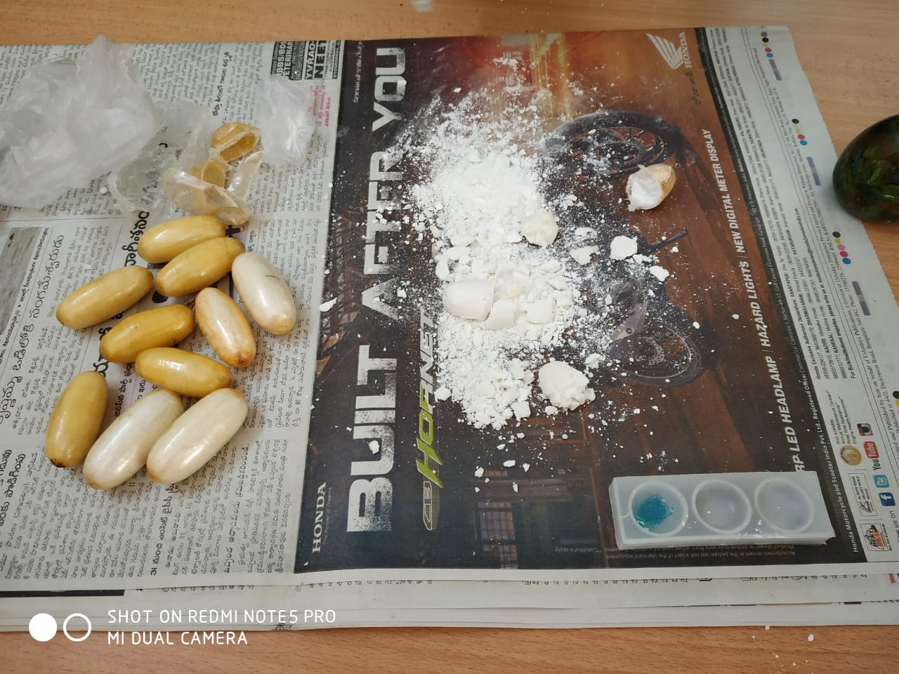 Nigerian man arrested in India with 155.5 grams of cocaine