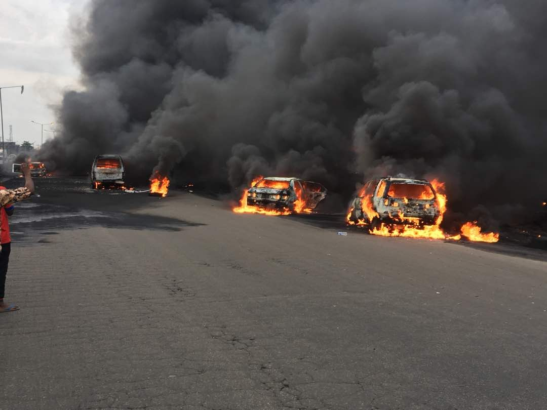 Police arrest owner of tanker that caused the Otedola bridge explosion