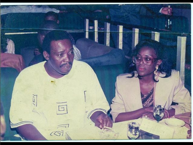 Check out this major throwback of veteran actors, Joke Silva and Olu Jacobs